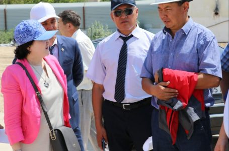 The Minister of Culture and Sport visited the Turkestan