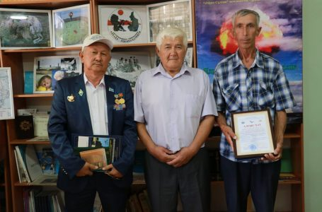 "Photo exhibition ""Nuclear Tests – Eternal Disaster"" opened in ""Azret Sultan"""