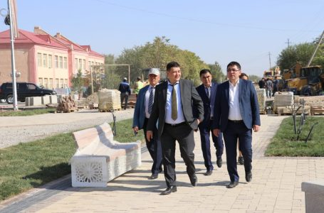 CULTURE AND SPORT VICE MINISTER CAME TO TURKESTAN WITH SPECIAL VISIT