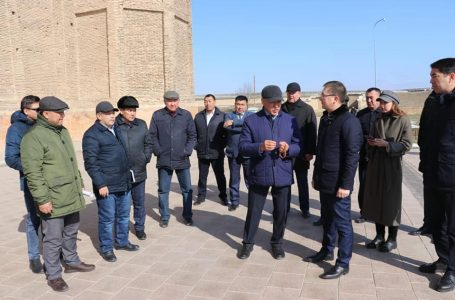 "Akimat of Turkestan acquainted with ""Aziret Sultan"" Reserve Museum"