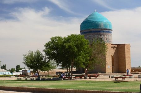 Rabïya Sultan Begim mausoleum, XV c.