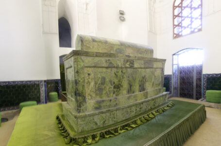The Tomb Of Khoja Ahmed Yasawi