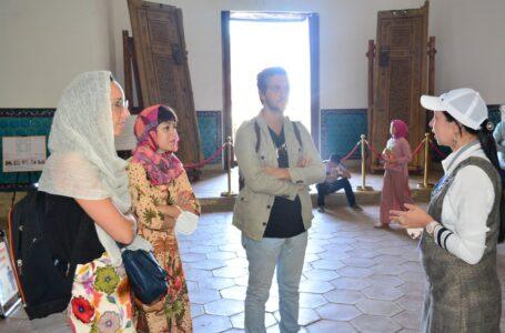 Italian directors visited the mausoleum of Khoja Ahmet Yasawi
