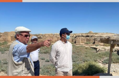 Comprehensive plans for the development of the medieval settlement of Sauran are being developed