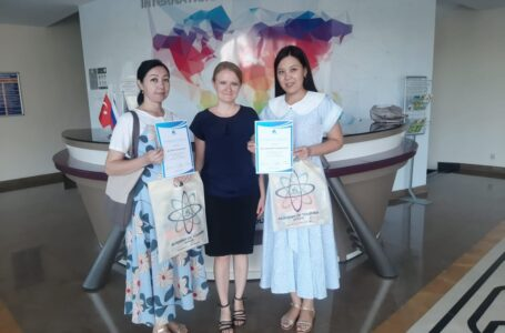 The guides exchanged experience and improved their skills in Turkey