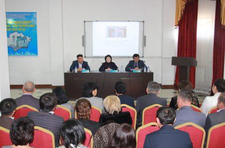 Актоты Райымкулова встретилась с сотрудниками сферы культуры Туркестанской области