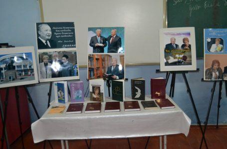 Проведение лекции-выставки на тему «Великие личности Великой степи»