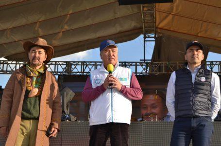 АРЫСТАНБЕК МҰХАМЕДИҰЛЫ «Nomad Explorer» республикалық туристік экспедициясының гала-концертіне қатысты