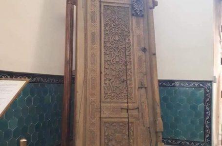 Қожа Ахмет Ясауи кесенесінде XIV ғасырдан екі есік -«Қақпа» және «Қапсырма» сақталған
