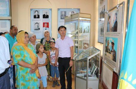 Түркістанда «Ұлы Дала кемеңгері – Елбасы және Түркістан» көрмесі ашылды