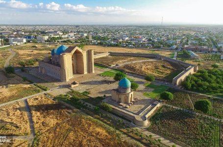 Кесене жайлы тікелей көрсетілім тұңғыш рет «Әзірет Сұлтан» қорық-музейінде орнатылды
