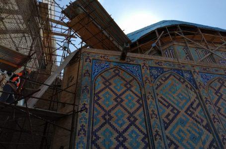 Қожа Ахмет Ясауи кесенесінің жарықтандыру және желдеткіш жүйелері тарихи қалпына келтіріледі