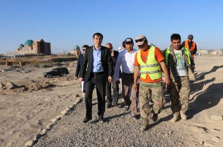 Бақытжан Берікбайұлы Түркістан қаласына арнайы іссапармен келді