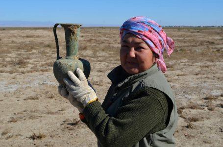 Түркістан тарихын зерттеп жүрген қазақ қыздары ішіндегі жалғыз  археолог