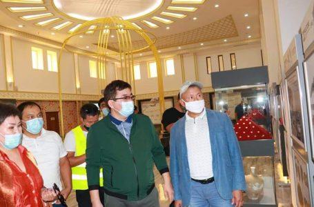 ҚР Мәдениет және спорт вице-министрі Нұрғиса Дауешов Түркістан қаласына арнайы іссапармен келді