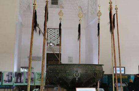 Қожа Ахмет Ясауи кесенесіндегі лаухалар тарихи орнына қойылды