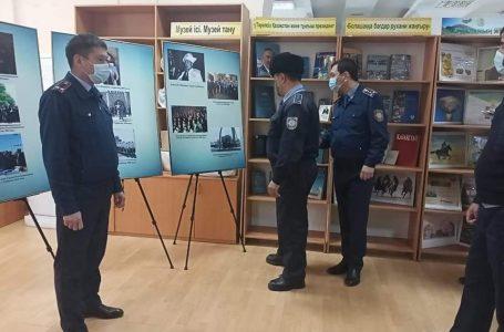 Полицейлер «Әзірет Сұлтан» қорық-музейімен танысты