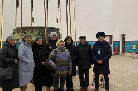 Түркістанға «Ақын» көркем фильмінің түсірілім тобы келді