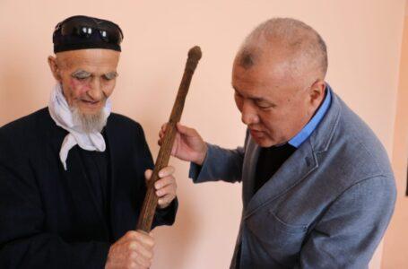 Қожа Ахмет Ясауидің нағашысы ұстаған 800 жылдық асатаяқ табылды