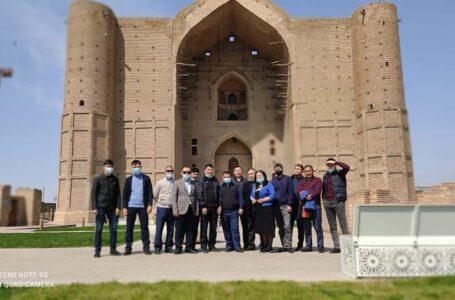Полицейлер Түркістан тарихы жайлы дәріс тыңдап, экскурсия жасады