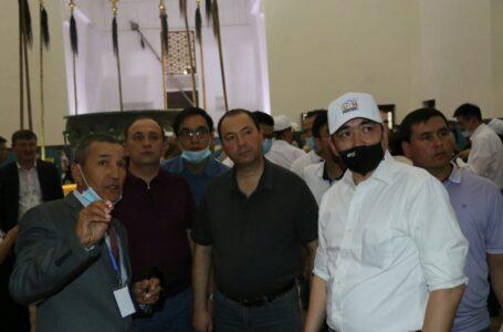Орталық Азия елдерінің білім және ғылым вице-министрлері Қожа Ахмет Ясауи кесенесіне келді