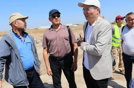 Түркістанға Қазақстанның ЮНЕСКО-дағы тұрақты өкілінің орынбасары Асқар Сауытбекұлы келді