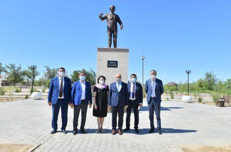 Ақтоты Райымқұлова жұмыс сапарымен Түркістан облысына барды