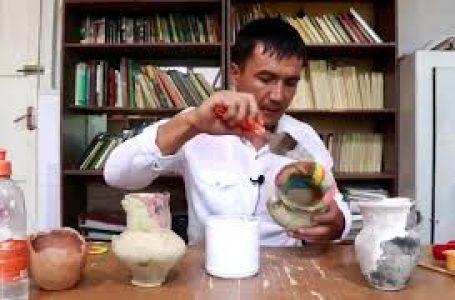 Жәдігерлерді реставрациялау жұмыстары (керамика)