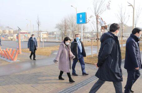 ҚР Мәдениет және спорт министрі Ақтоты Райымқұлова Түркістан қаласына арнайы іссапармен келді.