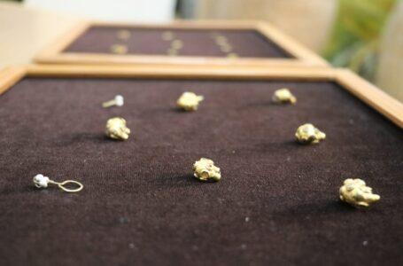 Күлтөбеден табылған II-III ғасырларға тән алтын сырғалар қорық-музей қорына қабылданды