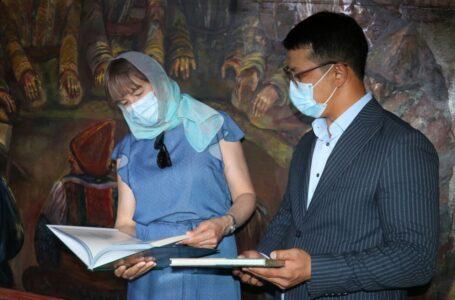 ТҮРКІСТАНҒА ЮНЕСКО-НЫҢ ҚАЗАҚСТАНДАҒЫ ӨКІЛІ КРИСТА ПИККАТ КЕЛДІ
